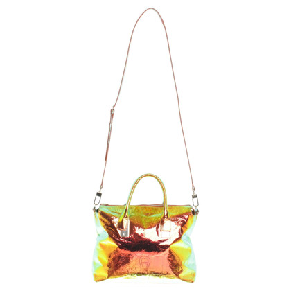 Aigner Handtasche in Hologram-Optik