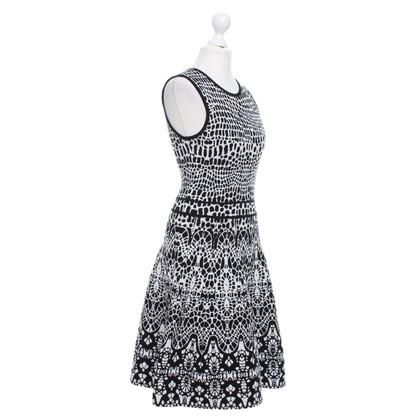 Karen Millen Gebreide jurk met patroon