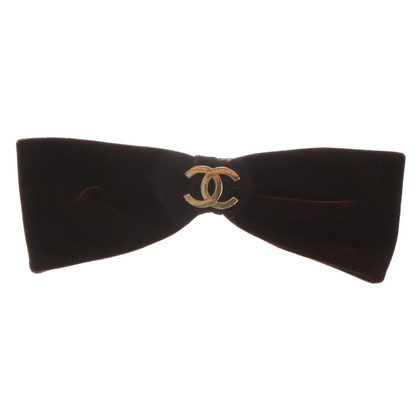 Chanel Hair clip with bow