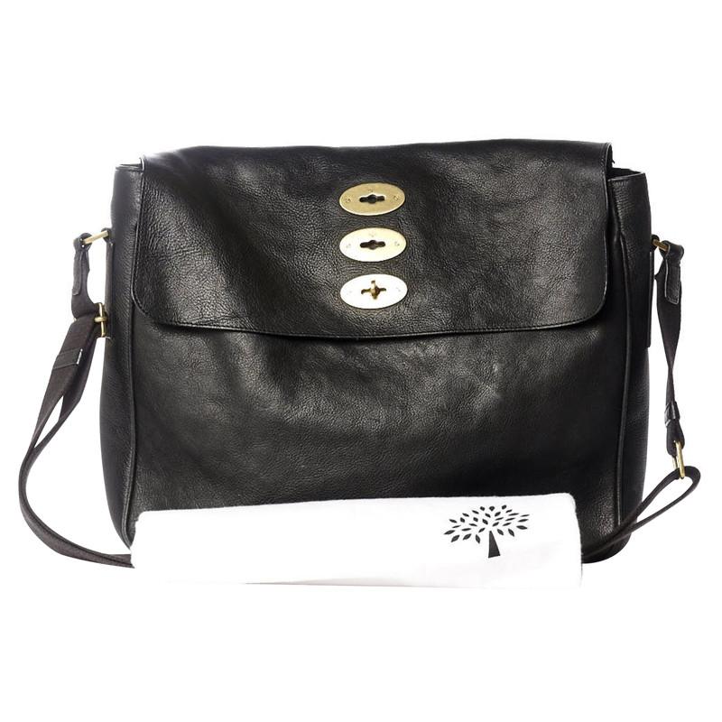 49e46568e2 discount mulberry handbag cleaning 5e1d1 29b69  sweden mulberry shoulder bag  in black leather 00569 e9708