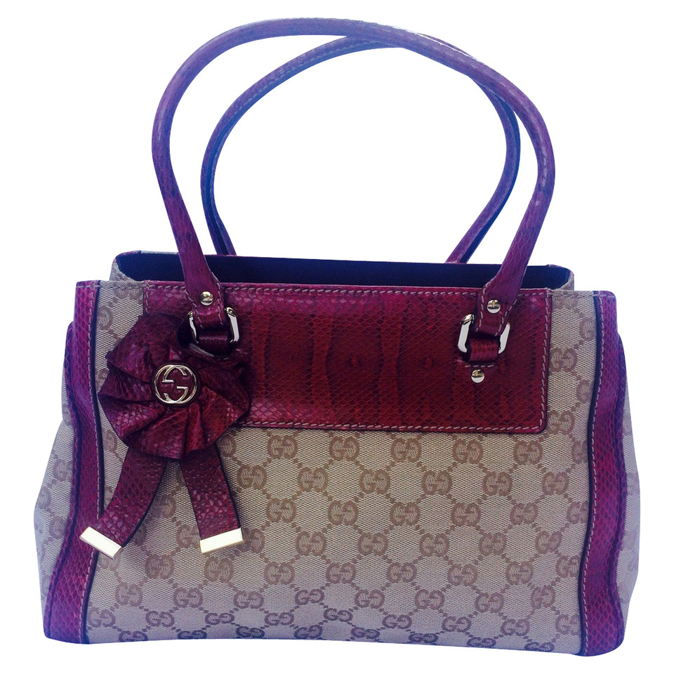 Gucci Handbag with Guccissima pattern