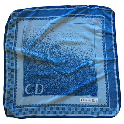Christian Dior Sjaal blauw