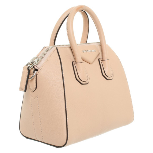 9dab136b11dcb Givenchy Antigona Mini Leather in Nude - Second Hand Givenchy ...