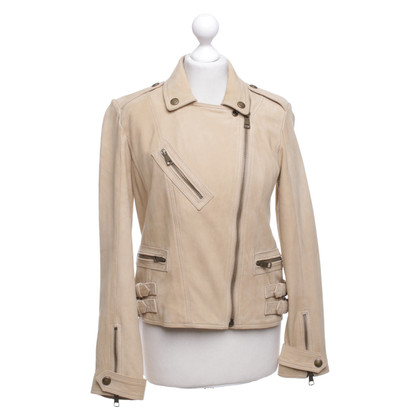 Burberry Leather jacket in biker style