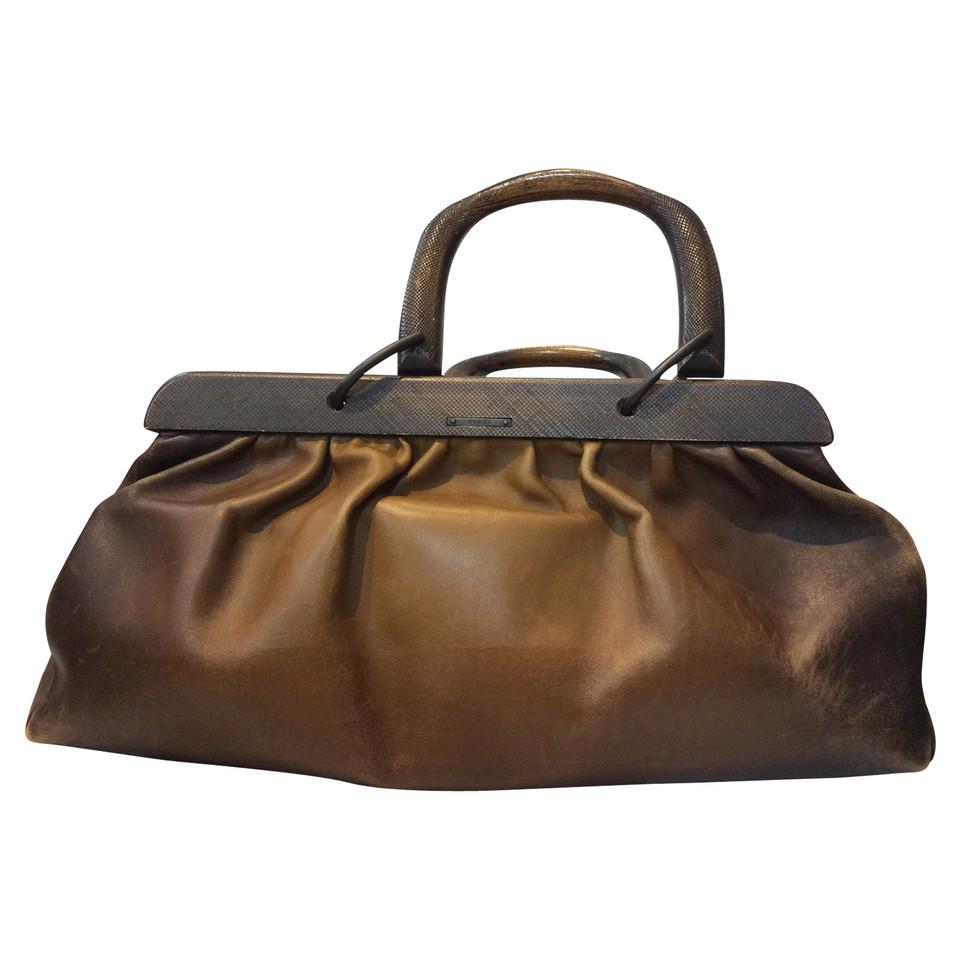 Gucci Sac à main vintage en marron