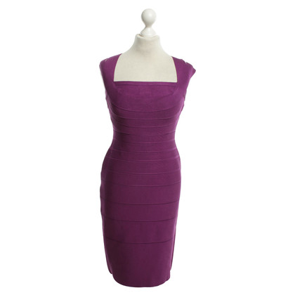 Herve Leger Kleid in Violett