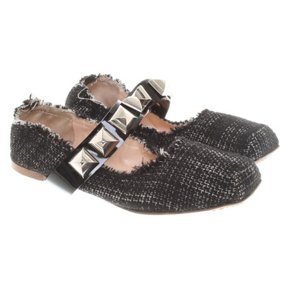 Marc Jacobs Ballerinas from Tweed