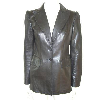 Plein Sud leather blazer