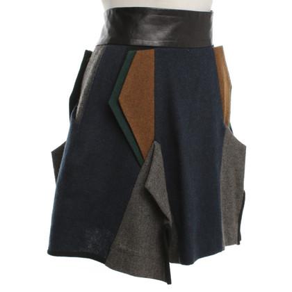Andere merken Toga - rok met geometrisch ontwerp