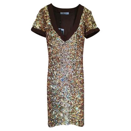 Blumarine Dress with sequin trim