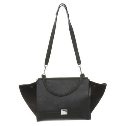 "Céline ""Trapeze Bag"" in black"