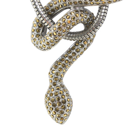 Swarovski Necklace with snake application
