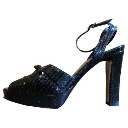 Céline Python sandals