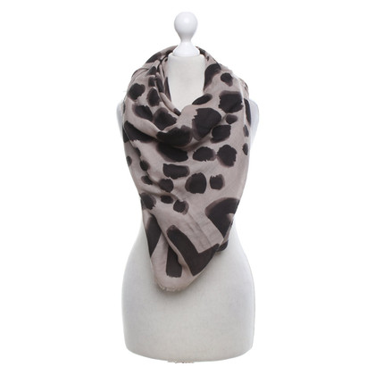 Moschino Cheap and Chic Scarf with leopard pattern