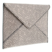 Louis Vuitton clutch in envelopes look
