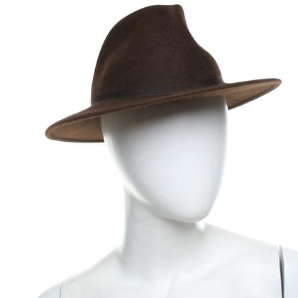 Borsalino Hoed in Brown
