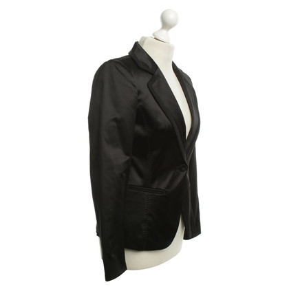 Max & Co Satin blazer in zwart