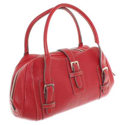 Loewe Handtasche in Rot