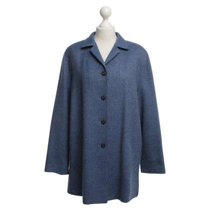 Basler Wool coat in blue