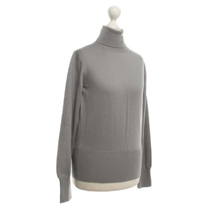 Fay Rollkragen-Pullover in Grau