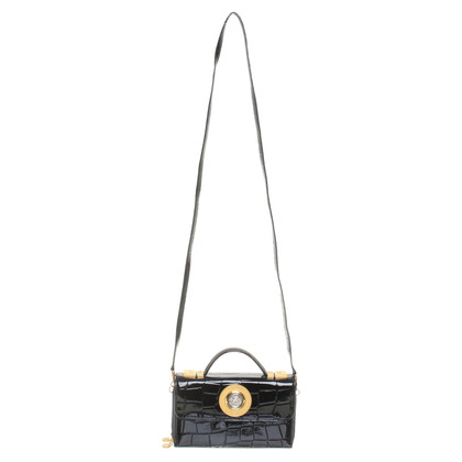 Versace Handbag Patent Leather