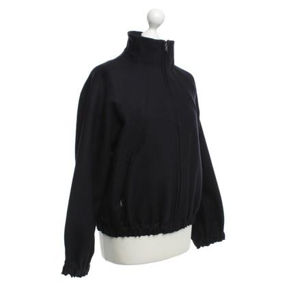Prada Eenvoudige vest van zwart
