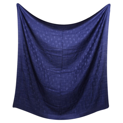 Christian Dior Zijden sjaal in blauw