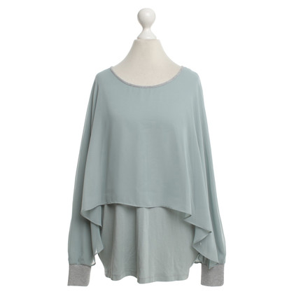Riani Top in turchese / argento