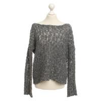 James Perse maglione maglia in grigio