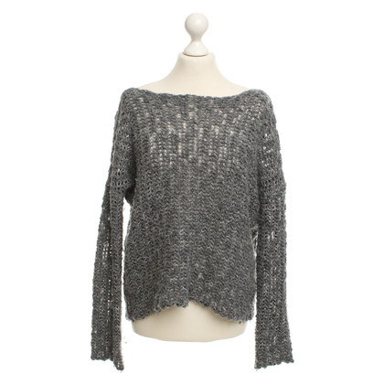 James Perse Strickpullover in Grau
