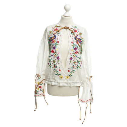 Dsquared2 Tunic with decorative embroidery