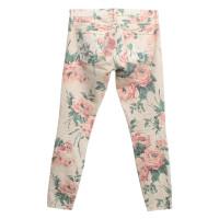 Current Elliott Jeans met bloemenprint