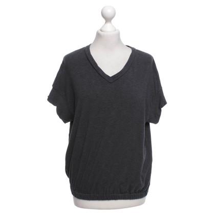 Brunello Cucinelli T-shirt in grey