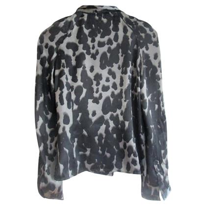 Iceberg camicia di stampa del leopardo