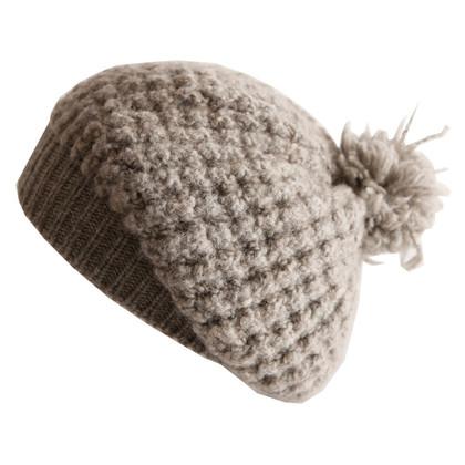 Stella McCartney Cappello di lana grigio