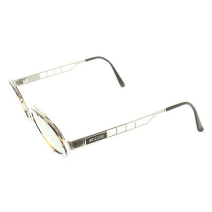 Moschino Sonnenbrille mit Schildpattmuster
