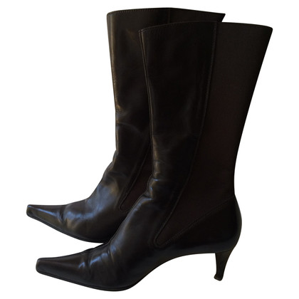 Yves Saint Laurent Ankle boots in brown