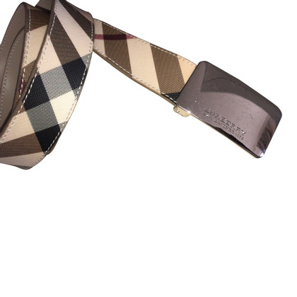 Burberry Band check gesp 40/100