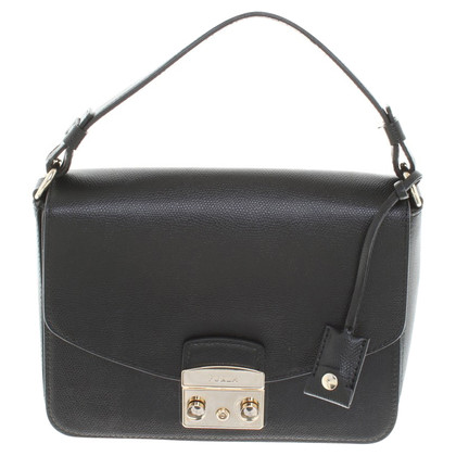 Furla Cross-Body Bag in Schwarz