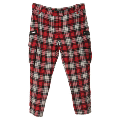Joseph Pantaloni con pattern plaid