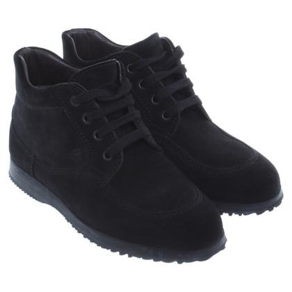 Hogan ankel boots black