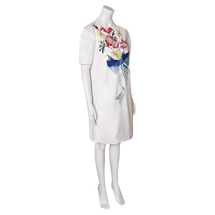 Antonio Marras Dress with floral embroidery