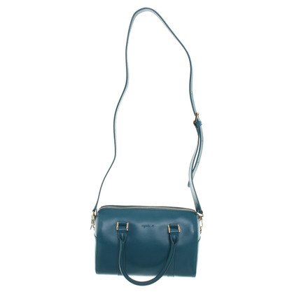 Agnès B. Handbag made of smooth leather