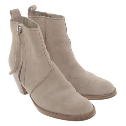 Acne Pistool-boots in beige