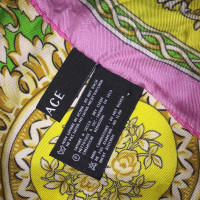 Versace Baroque silk scarf