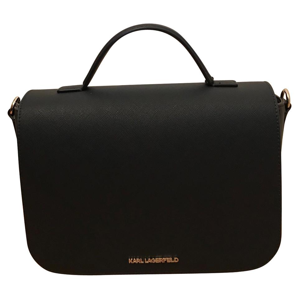karl lagerfeld handtasche second hand karl lagerfeld handtasche gebraucht kaufen f r 199 00. Black Bedroom Furniture Sets. Home Design Ideas