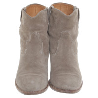 Isabel Marant Suede ankle boots in grey