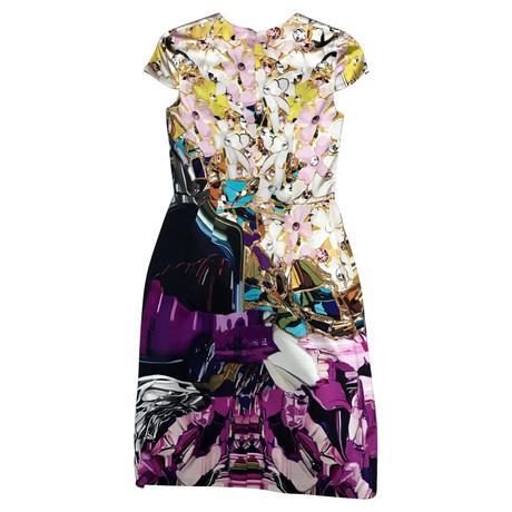 Mary Katrantzou Seidenkleid Andere Farbe