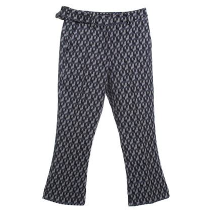 Max & Co trousers in black / blue / grey