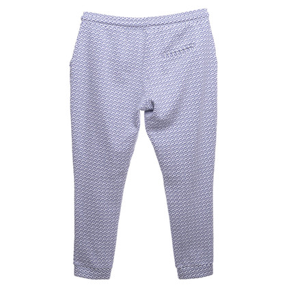 Rich & Royal Pantaloni della tuta in blu / bianco